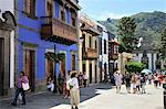 Teror, a charming town with some of the best examples of colonial-style architecture. Gran Canaria, Canary islands Stock Photo - Premium Rights-Managed, Artist: AWL Images, Code: 862-05999287