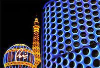 U.S.A., Nevada, Las Vegas, Paris and Planet Hollywood Stock Photo - Premium Rights-Managednull, Code: 862-05999656