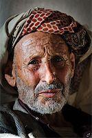 Yemen, Sana'a Province, Haraz Mountains, Al Hajjarah. Portrait of an old man. Stock Photo - Premium Rights-Managednull, Code: 862-05999730