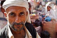 Yemen, Al Hudaydah, Bait Al Faqhi. A man at the Friday market. Stock Photo - Premium Rights-Managednull, Code: 862-05999736