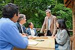 Business people talking in meeting Stock Photo - Premium Royalty-Free, Artist: Cultura RM, Code: 649-06000592