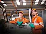 Engineer apprentices with truck Stock Photo - Premium Royalty-Free, Artist: Cultura RM, Code: 649-06001508
