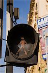 Pedestrian crossing signal Stock Photo - Premium Royalty-Free, Artist: Daryl Benson, Code: 614-06002464