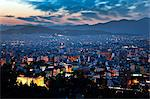 Cityscape at night, athens, greece Stock Photo - Premium Royalty-Free, Artist: Robert Harding Images, Code: 614-06002501