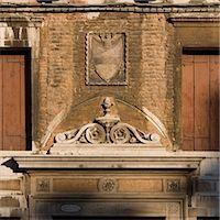 Heraldic crest above Venice doorway. Stock Photo - Premium Rights-Managednull, Code: 845-06007932