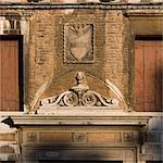 Heraldic crest above Venice doorway. Stock Photo - Premium Rights-Managed, Artist: Arcaid, Code: 845-06007932