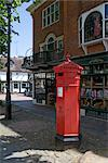 Pantiles Post Box, Tunbridge Wells, Kent, UK. Stock Photo - Premium Rights-Managed, Artist: Arcaid, Code: 845-06008013