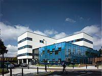 person walking on parking lot - Hackney Ark' Childrens Development Centre, Hackney, London, UK. Architects: Aedas Stock Photo - Premium Rights-Managednull, Code: 845-06008388
