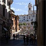 Spanish Steps, Rome. Stock Photo - Premium Rights-Managed, Artist: Arcaid, Code: 845-06008451