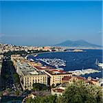 View of Mount Vesuvius from Posillipo, Naples, Campania, Italy Stock Photo - Premium Rights-Managed, Artist: Siephoto, Code: 700-06009142
