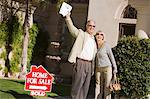 Happy new home owners, portrait Stock Photo - Premium Royalty-Free, Artist: Cultura RM, Code: 693-06014523