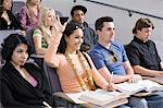 Group of University students in lecture hall Stock Photo - Premium Royalty-Freenull, Code: 693-06014831