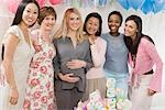 Women at a Baby Shower Stock Photo - Premium Royalty-Free, Artist: Blend Images, Code: 693-06017159