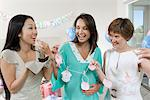 Women at a Baby Shower Stock Photo - Premium Royalty-Free, Artist: Water Rights, Code: 693-06017186