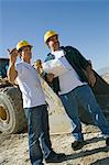 Construction Workers Stock Photo - Premium Royalty-Free, Artist: Jose Luis Stephens, Code: 693-06017378