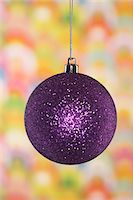 Christmas bauble, close-up Stock Photo - Premium Royalty-Freenull, Code: 693-06018755