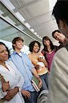 Students with teacher at school Stock Photo - Premium Royalty-Freenull, Code: 693-06019952