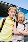 Brother and Sister Stock Photo - Premium Royalty-Free, Artist: Kevin Dodge, Code: 693-06020895