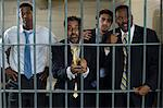Four people in prison cell Stock Photo - Premium Royalty-Free, Artist: Cusp and Flirt, Code: 693-06020910