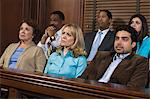 Jurors in courtroom during trial Stock Photo - Premium Royalty-Free, Artist: Westend61, Code: 693-06020915