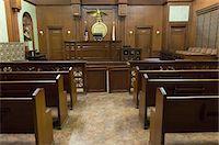 Court room seating Stock Photo - Premium Royalty-Freenull, Code: 693-06020936
