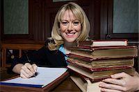 Woman working in court, portrait Stock Photo - Premium Royalty-Freenull, Code: 693-06020971