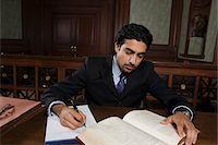 Man working in court Stock Photo - Premium Royalty-Freenull, Code: 693-06020973