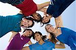 High School Friends Huddling Stock Photo - Premium Royalty-Free, Artist: Cultura RM, Code: 693-06021069