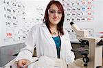 Student in Science Class Stock Photo - Premium Royalty-Free, Artist: Oriental Touch, Code: 693-06021071
