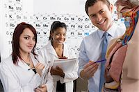 Teacher Giving Anatomy Lesson Stock Photo - Premium Royalty-Freenull, Code: 693-06021078