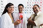 Science Students with Beakers Stock Photo - Premium Royalty-Free, Artist: Oriental Touch, Code: 693-06021081