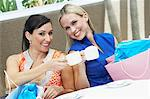 Women on a Shopping Trip Stock Photo - Premium Royalty-Free, Artist: Blend Images, Code: 693-06021198