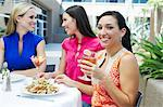 Friends in a Restaurant Stock Photo - Premium Royalty-Free, Artist: Blend Images, Code: 693-06021212