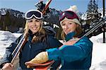 Skiers Stock Photo - Premium Royalty-Freenull, Code: 693-06021228