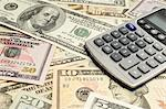 Money and Calculator Stock Photo - Premium Royalty-Free, Artist: Cultura RM, Code: 693-06021261