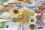 European Currency Stock Photo - Premium Royalty-Free, Artist: iRepublic, Code: 693-06021278