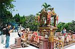 Thai shrine at Chuk Lam Shim Yuen Bamboo Grove Monastery, Tsuen Wan, Hong Kong