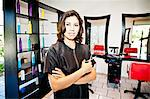 Beautician holding her tools in beauty salon Stock Photo - Premium Royalty-Free, Artist: Blend Images, Code: 673-06025682