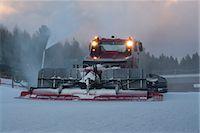 Snow plow Stock Photo - Premium Royalty-Freenull, Code: 632-06029845
