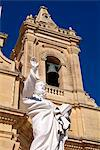 Church at Gharb, Gozo, Malta, Mediterranean, Europe Stock Photo - Premium Rights-Managed, Artist: Robert Harding Images, Code: 841-06030463
