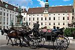 Horse-drawn carriage at the Hofburg, Vienna, Austria, Europe Stock Photo - Premium Rights-Managed, Artist: Robert Harding Images, Code: 841-06030478