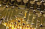 Gold ingots, Frankfurt, Germany, Europe Stock Photo - Premium Rights-Managed, Artist: Robert Harding Images, Code: 841-06030549