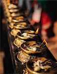Butter lamps, Kathmandu, Nepal, Asia Stock Photo - Premium Rights-Managed, Artist: Robert Harding Images, Code: 841-06030822