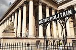 Stock Exchange (La Bourse) and Metropolitain sign at entrance to metro, Place de la Bourse, Paris, France, Europe Stock Photo - Premium Rights-Managed, Artist: Robert Harding Images, Code: 841-06030867