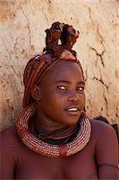 Himba woman, Skeleton Coast National Park, Namibia, Africa Stock Photo - Premium Rights-Managednull, Code: 841-06030888