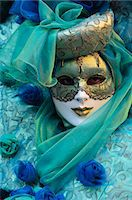 Masked figure in costume at the 2012 Carnival, Venice, Veneto, Italy, Europe Stock Photo - Premium Rights-Managednull, Code: 841-06030937