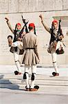 Changing of the Guard at the Tomb of the Unknown Soldier, Athens, Greece, Europe Stock Photo - Premium Rights-Managed, Artist: Robert Harding Images, Code: 841-06031074