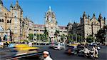 Chhatrapati Shivaji Terminus (Victoria Terminus), UNESCO World Heritage Site, Mumbai, Maharashtra, India, Asia Stock Photo - Premium Rights-Managed, Artist: Robert Harding Images, Code: 841-06031243