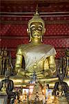 Sitting Buddha, Wat Mai Complex, Luang Prabang, Laos, Indochina, Southeast Asia, Asia Stock Photo - Premium Rights-Managed, Artist: Robert Harding Images, Code: 841-06031632