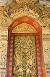 Temple door, Wat Paphaimsaiyaram, Luang Prabang, Laos, Indochina, Southeast Asia, Asia Stock Photo - Premium Rights-Managed, Artist: Robert Harding Images, Code: 841-06031655
